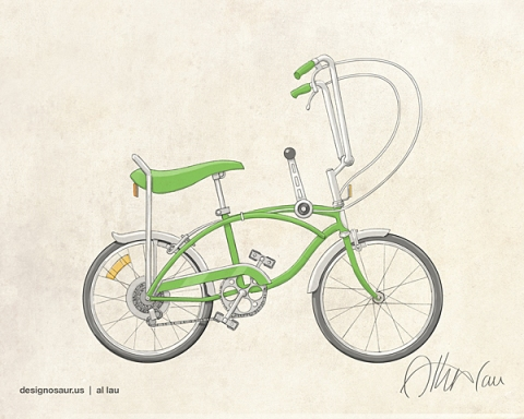 bicycle_stingray_green_by_al_lau