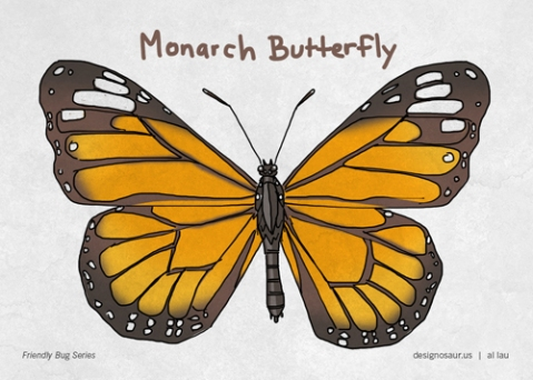 monarch_butterfly_by_al_lau