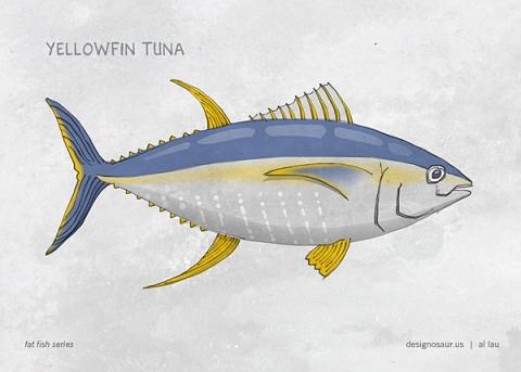 yellowfin_tuna_by_al_lau