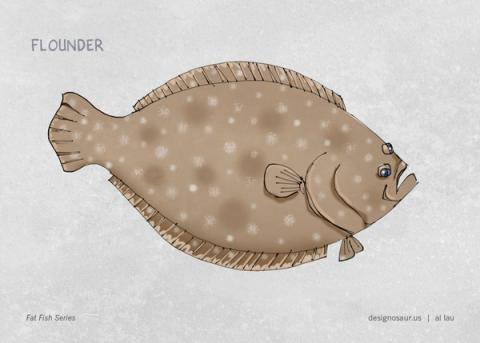 flounder_by_al_lau