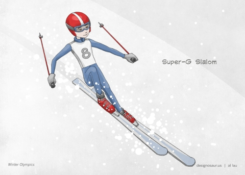 olympic_skiing_by_al_lau