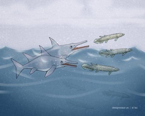 ichthyosaur_by_al_lau_A