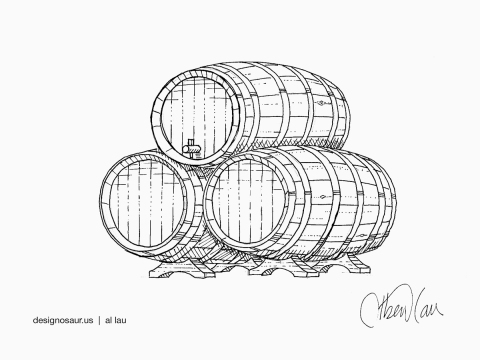 wine_barrels_by_al_lau