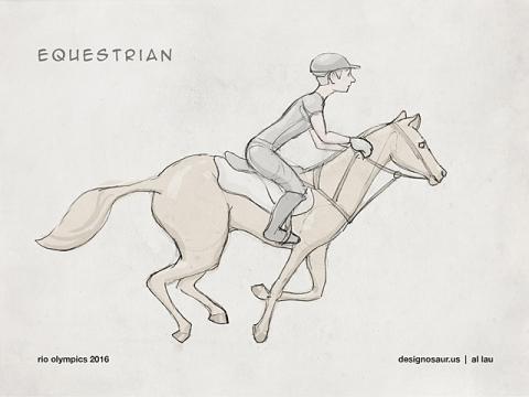 equestrian_by_al_lau