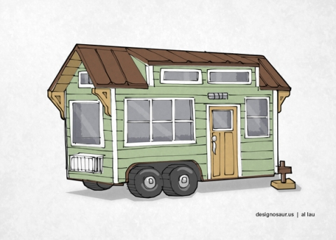 Drawing Tiny House October 1 2016