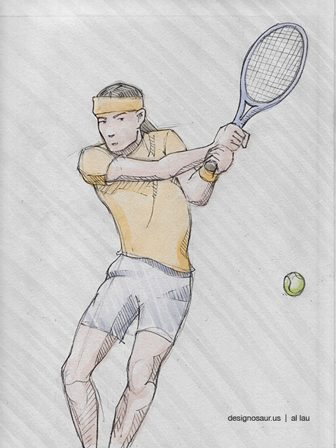 tennis_two_hand_backhand_by_al_lau