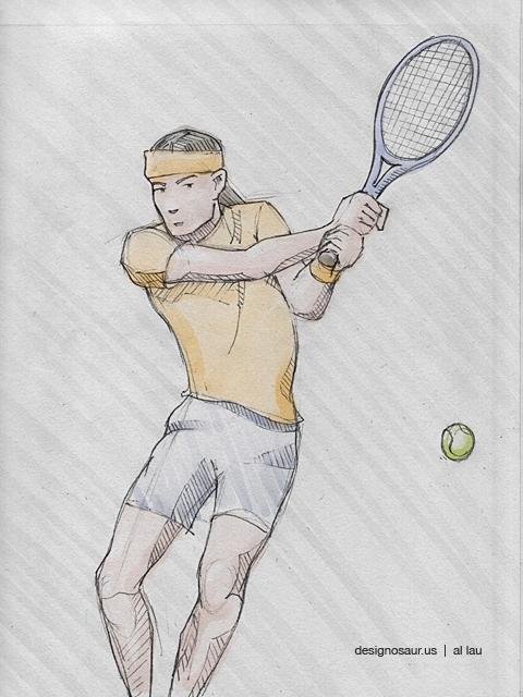 tennis_two_hand_backhand_by_al_lau
