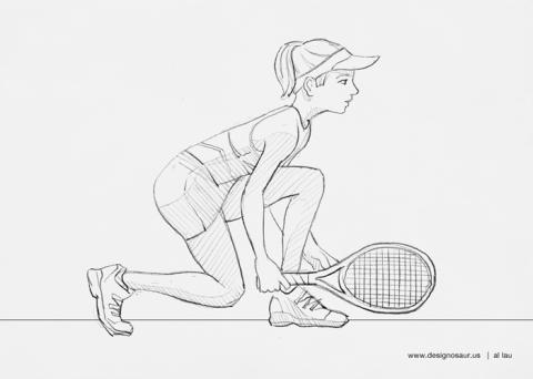 tennis_doubles_by_al_lau