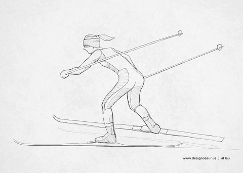 cross_country_skiing_by_al_lau