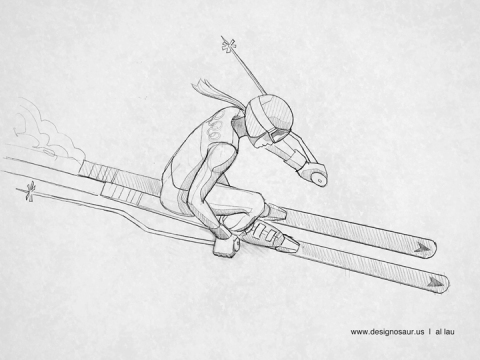 downhill_skiing_by_al_lau