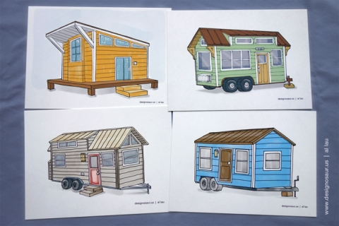 tiny_house_postcards_by_al_lau
