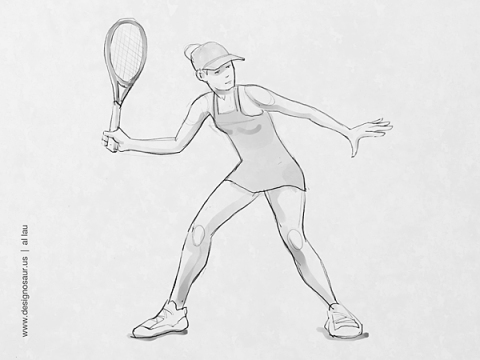 forehand_return_by_al_lau