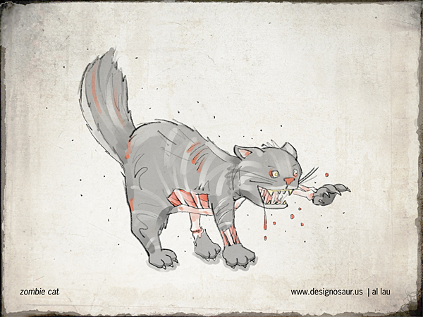 zombie_cat_by_al_lau