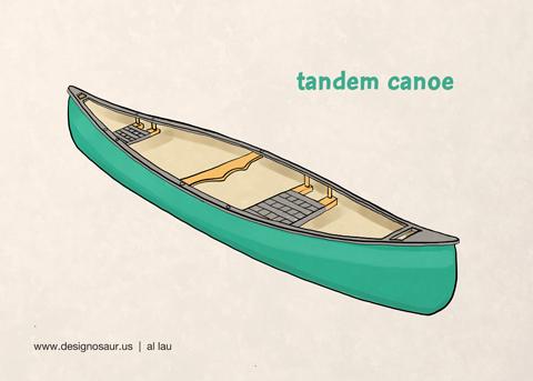 tandem_canoe_by_al_lau