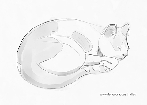 cat_sleeping_by_al_lau