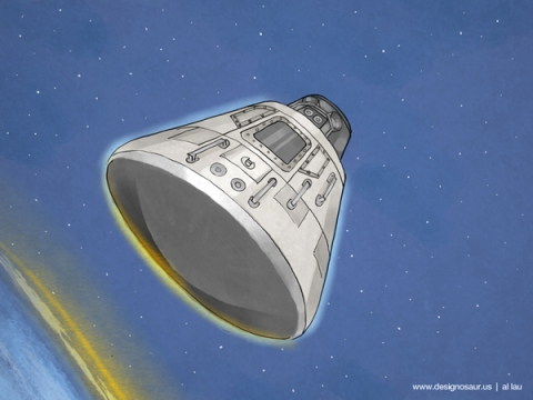 apollo_11_capsule_by_al_lau