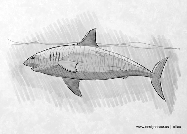 great_white_shark_by_al_lau