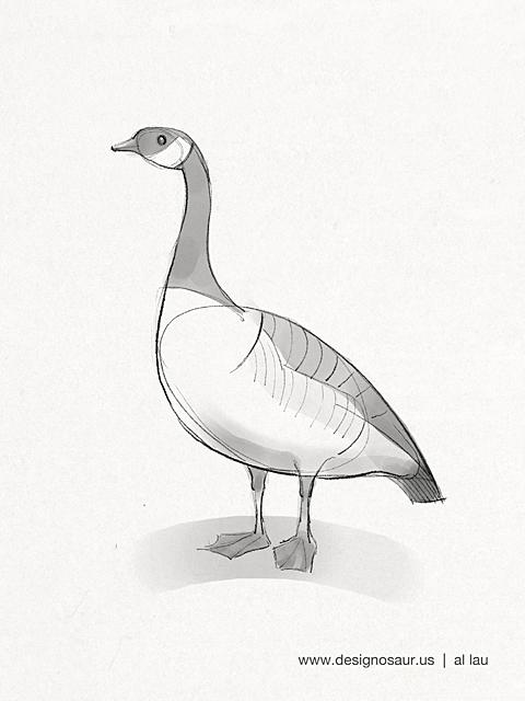 goose_by_al_lau