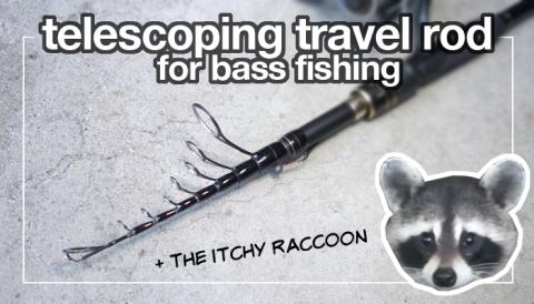 telescoping travel rod