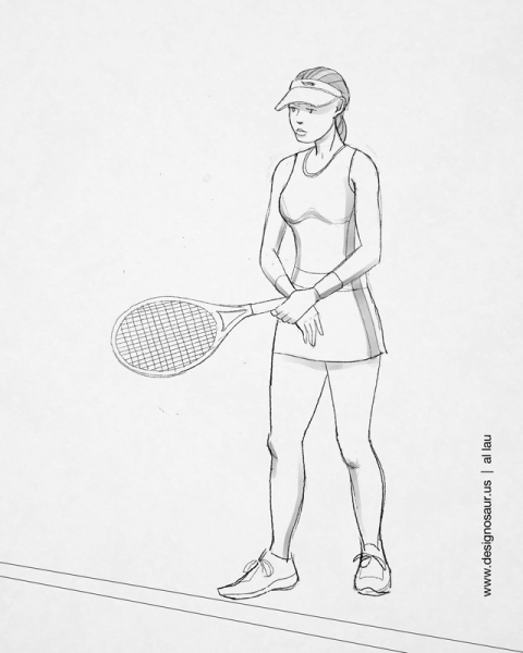 tennis_waiting_by_al_lau